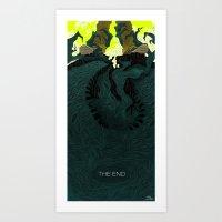 The End (Part 2) Art Print