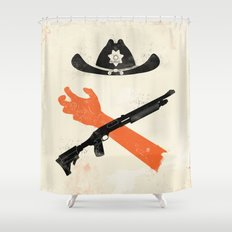 The Wandering Dead Shower Curtain