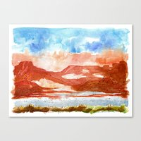 Topak Canyon Canvas Print
