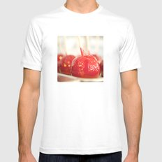 Candy Apples Mens Fitted Tee SMALL White