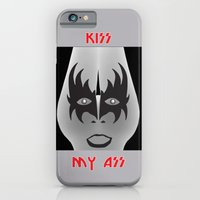 iPhone & iPod Case featuring Kiss My Ass by Ataxk SieSeiS