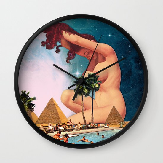 The Sphinx Wall Clock
