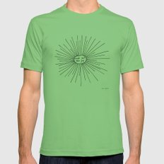 seek out the joy Mens Fitted Tee Grass SMALL