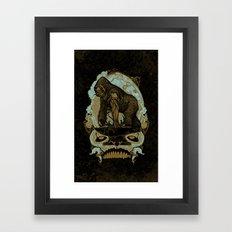 Ape Grits Framed Art Print
