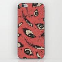 Pink Eye iPhone & iPod Skin
