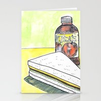 Sandwich and Tea's Tea Stationery Cards