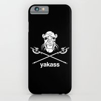 iPhone & iPod Case featuring Yakass by Mike Handy Art