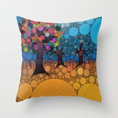:: Jewel Tree :: Throw Pillow