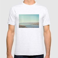 Columbia River Polaroid Mens Fitted Tee Ash Grey SMALL