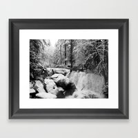 Impression Of Ansel Adam… Framed Art Print