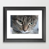 Edgar (100% of proceeds donated to charity) Framed Art Print