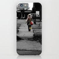 Woman Walking iPhone 6 Slim Case
