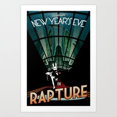 BioShock New Year's In Rapture Art Print