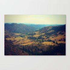 Cherokee Natural Area Canvas Print
