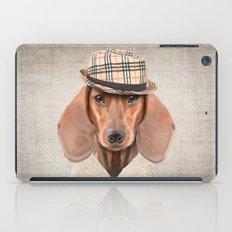 The stylish Mr Dachshund iPad Case