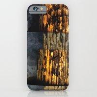 woodonmetalonwood iPhone 6 Slim Case
