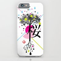 iPhone & iPod Case featuring sakura ki by MaMe Creative Beans