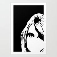 look in Art Print
