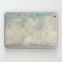 Saltwash III Splash of Lace and Pearls and Diamonds and Aquamarine Laptop & iPad Skin