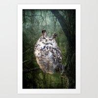By the Light... Art Print
