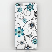 Winter Flowers iPhone & iPod Skin