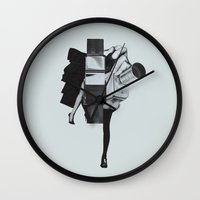 Wisconsin Avenue Wall Clock