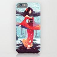 A walk in the asian winter iPhone 6 Slim Case