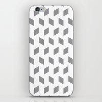 Rhombus Bomb In Alloy iPhone & iPod Skin