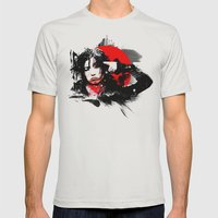 Shiina Ringo Mens Fitted Tee Silver SMALL