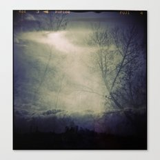 lomographic Sky 5 Canvas Print