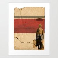 RAIN// Art Print