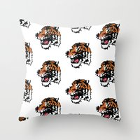 Low Resolution Throw Pillow