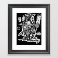 Escape From Mushroom Isl… Framed Art Print