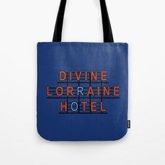 Divine Lorraine Hotel Tote Bag