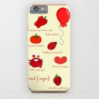 Colors: Red (los Colores… iPhone 6 Slim Case