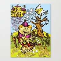 The Champion Slugger Canvas Print