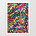 Wild Abstract Art Print