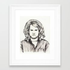 PHILIP BOURNE IS ROLLING DEEP  (The Wrong Mans) Framed Art Print