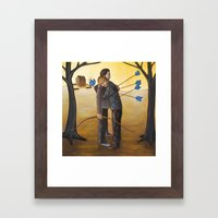 Forgive Thy Brother Framed Art Print