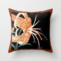 Tiger Lily... Throw Pillow