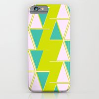 iPhone & iPod Case featuring Mod Triangles by fable design