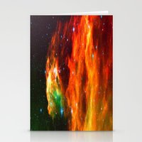 Spaceplosion Stationery Cards