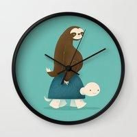 Slow Ride Wall Clock