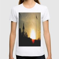 Plaza de Armas, New Orleans Womens Fitted Tee Ash Grey SMALL