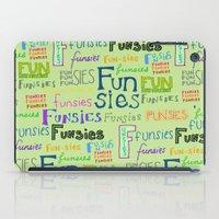 Funsies iPad Case