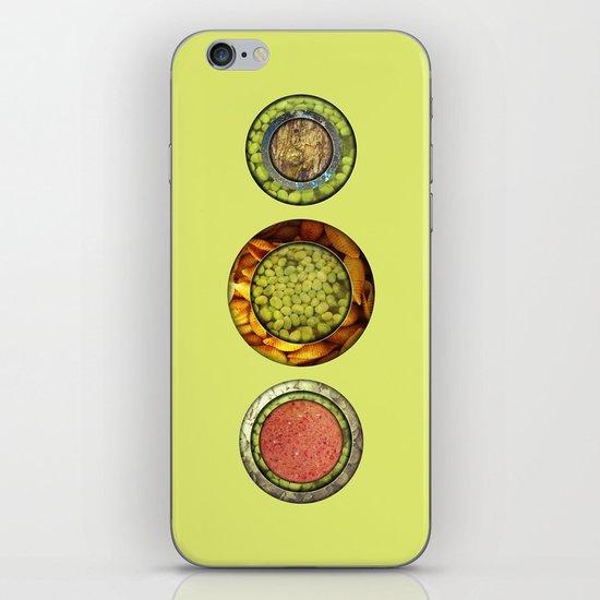 Food Mix Tris iPhone & iPod Skin