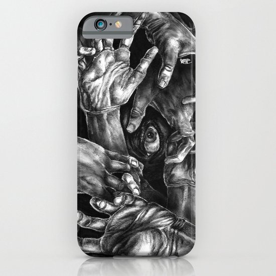Getting Handsy (smothering, groping, hands) iPhone & iPod Case