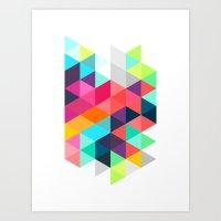 Crystallize Art Print