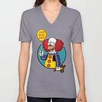 Krustywise The Clown Unisex V-Neck