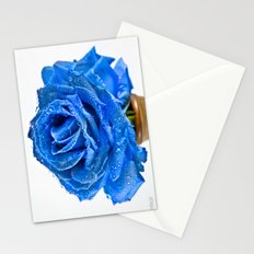 Magical Blue Rose  Stationery Cards